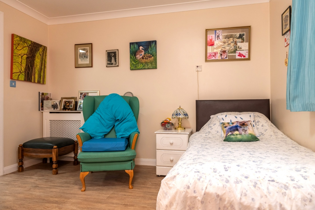 Rooms can be personalised with family photos, favourite pieces of furniture, etc.
