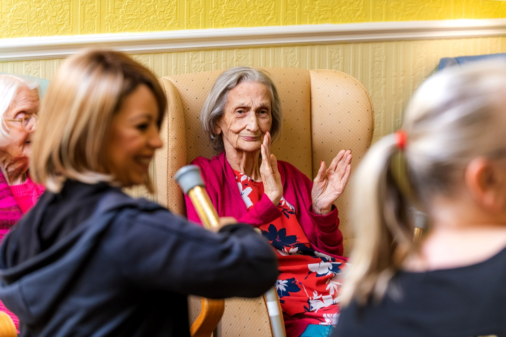 Assisted living in a safe, stimulating & comfortable environment.