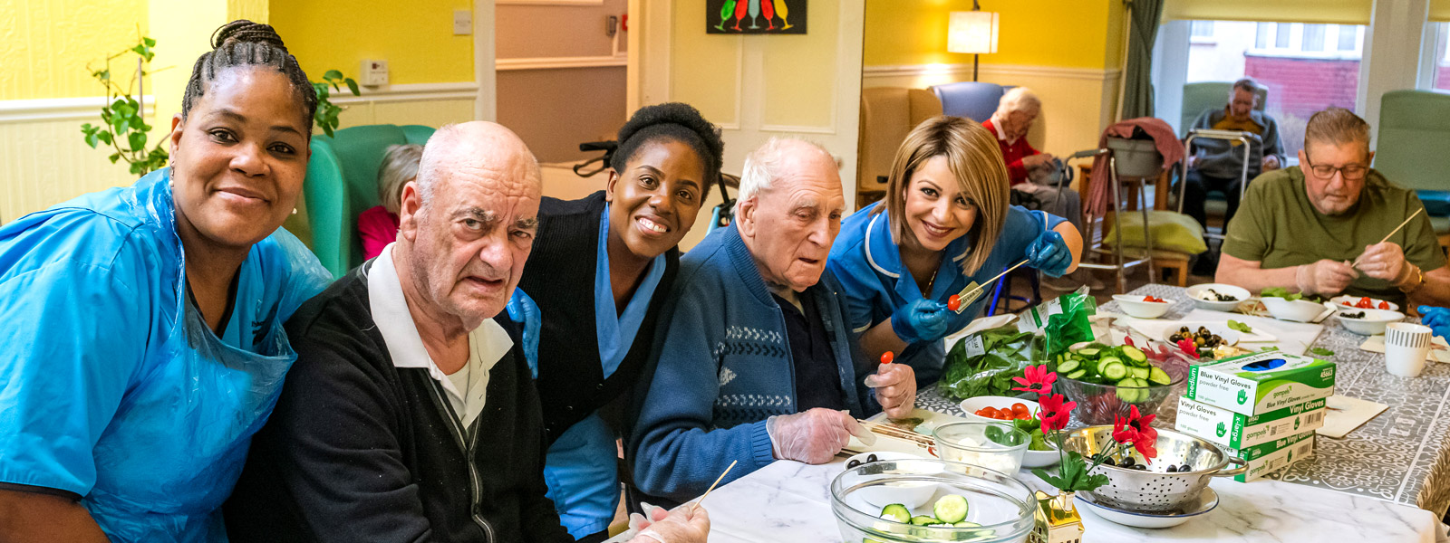 Our key aim is to promote individualised person-centred care, whilst offering a high quality of life to our residents.