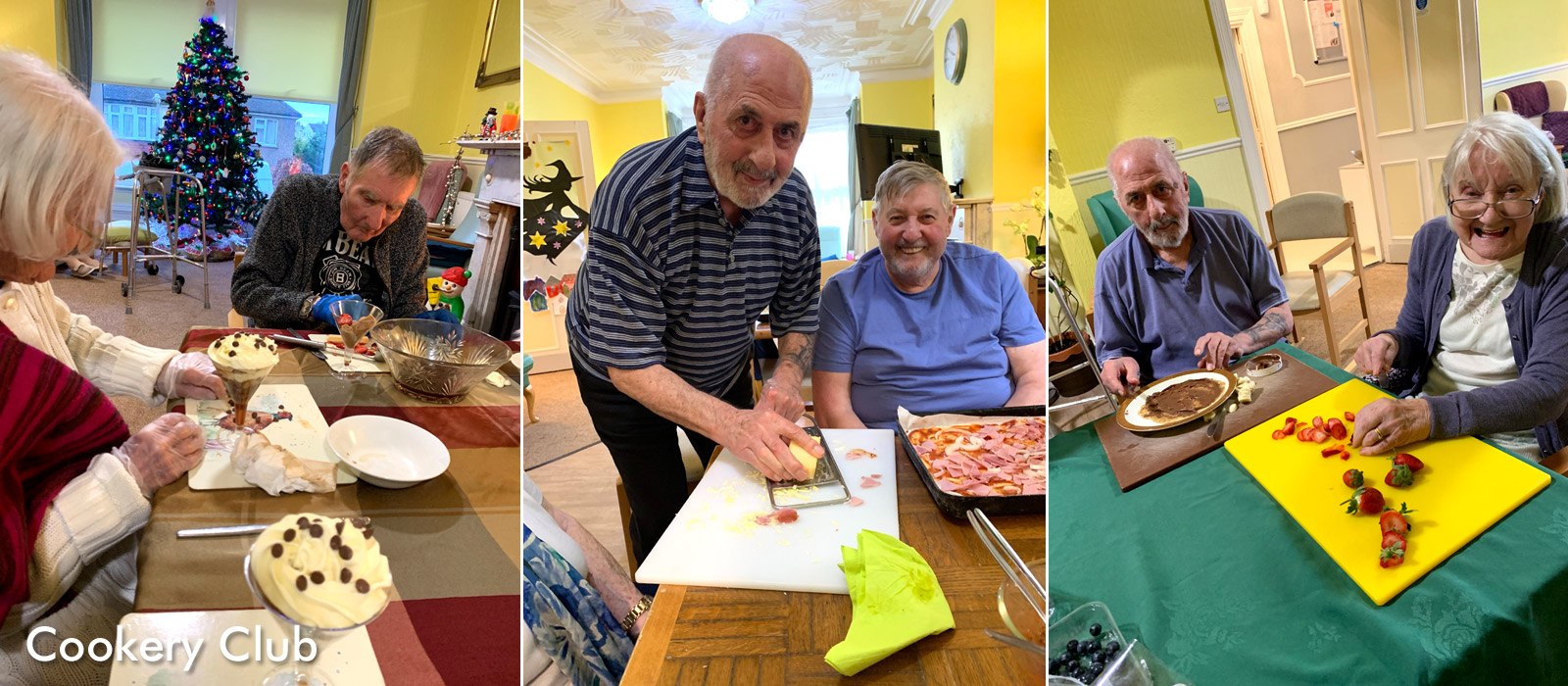 Activities at Grafton Lodge care home include cookery/baking