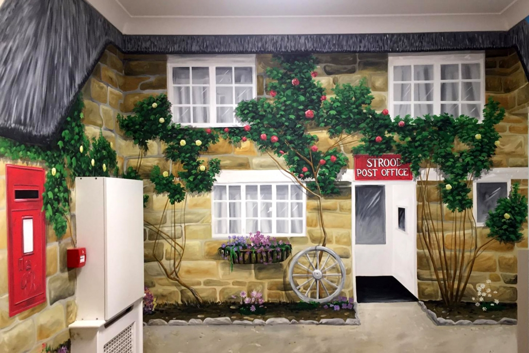 Our Strood Post Office mural offers a familiar sight for local residents.